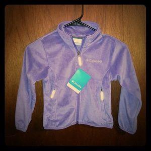 NWT Youth XXS Columbia Fleece Jacket